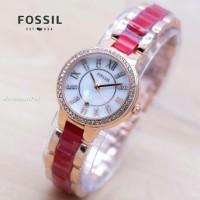 Fossil Jam tangan Wanita cewek Mika TIDAK LUNTUR terbaru 2018 Harga mu