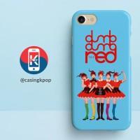 Casing Handphone KPOP RED VELVET DUMB DUMB RED