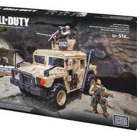 Mega Bloks / Mega Construx Call Of Duty Light Armor Firebase Lego Jeep