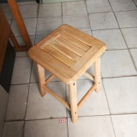 kursi bakso kayu