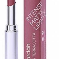 wardah lipstik intense matte no 10 miss teracotta