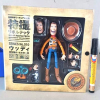 Sale Mainan action figure Woody Toy Story Disney Revoltech 010 Tin