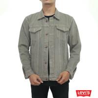 Jaket Jeans Levis Abu - Grey Denim Jacket - Trucker Jacket - Levi's