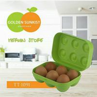 Tempat Telor Wadah Telur Egg Tray Golden Sunkist Isi 6