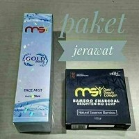 Paket Jerawat MSI ( Face Mist & Sabun Bamboo Arang)