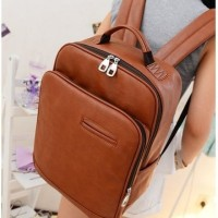 TAS FASHION WANITA IMPORT / RANSEL / BACKPACK / DU,0509 Brown
