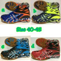 Sepatu Voli Professional Ballistic Mid Original Volleyball Shoes