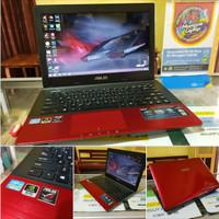 laptop seken ASUS A45VD RED RUBY GAMER & DESAIN SERIES HIGH LEVEL