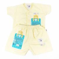Pakaian Anak Bayi Newborn Libby Baju Lengan Pendek  & Celana Pendek