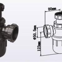 Bottle Trap PP for Sink Laboratorium - Kompone Lemari Asam