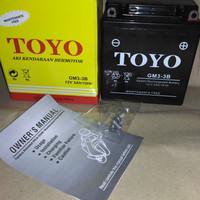 Aki Motor TOYO MF / Kering GM3-3B RX king ,Satria 2 tak ,Ninja R,