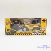 mainan bulldozer alat berat remote control RC