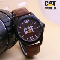 JAM TANGAN PRIA CAT PILAR DARKBROWN FULL