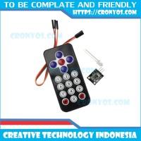 HX1838 IR Receiver + Remote / Infrared Remot Control Arduino