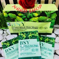 BSY / NONI BLACK HAIR MAGIC / MENGHITAMKAN RAMBUT ORIGINAL BPOM 3 LOGO