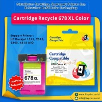 Cartridge Recycle HP 678 Color, Printer HP 1515, HP 2515, HP 2545