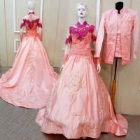 kebaya pengantin termurah di tokopedia / baju nikah mewah modern