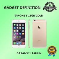 Apple Iphone 6 - 16gb - Gold - 4g Lte - Garansi Platinum 1 Tahun