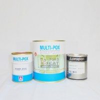 Cat Epoxy Propan Multipox MX-99 1 Set Warna Clear Gloss