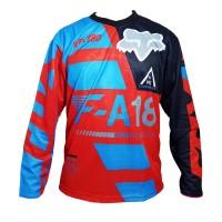 harga Baju / Kaos / Jersey Sepeda /gowes Lengan Panjang C042  Downhill Cross Tokopedia.com