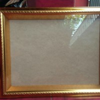 Frame Pigura Bingkai Box 3D UK 40x60 Scrapbook mahar Foto 3 Dimensi
