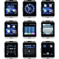 PRODAK BARU JAM TANGAN HP SMARTWATCH U9 / DZ09 SMART WATCH HITAM PUTIH