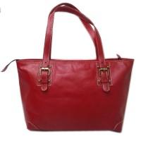 Tas kulit Asli Wanita - Hand Bag Terbaru Warna Tan - Tas Kulit Jogja
