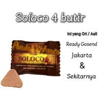 SOLOCO Original - Suplemen Stamina Pria rasa Coklat 1 PCS