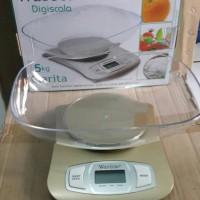 Timbangan Kue Dapur 5kg Weston Clarita Digital Scale bagus murah