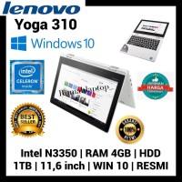 Promo!! Lenovo YOGA 310/4 GB RAM/ 1 TB/Intel Celeron/Wind 10/Resmi