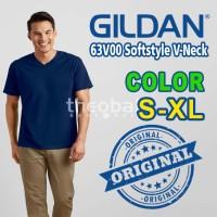 Gildan Vneck Softstyle 63V00 Original ( COLOR, SIZE XS-XL )