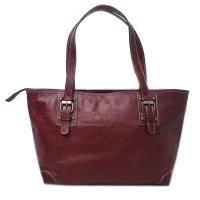 Tas kulit Asli Wanita - Hand Bag Terbaru Warna Mocca - Tas Kulit Jogja