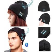 Topi Kupluk Beanie Multifungsi/ Beanie HandsFree Earphone Cover Helm
