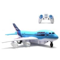 Berkualitas Mainan Remote Control RC Pesawat Super Aerobus