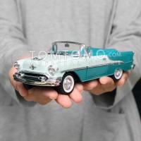 Olds Super 88 1955 Mobil Mobilan Mainan Anak Diecast Miniatur Klasik