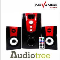 Audio Speaker Bass Advance M-680 Distributor accessories Toko Komputer