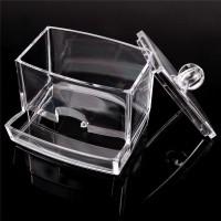 Kotak Acrylic Tusuk Gigi/Tempat Serbaguna