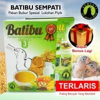 BATIBU SEMPATI PAKAN BUBUR LOVEBIRD ANAKAN HAND FEEDING LOLOHAN JA18