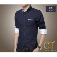 Tokopedia CiQiE MR Pakaian Baju Kemeja Hem Pria / Cowok
