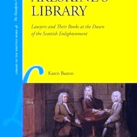 LAWYERS_library lawyers and their books at the dawn of the Scottish