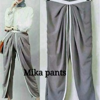 Bawahan Wanita Cool Fashion [Mikha pants FT] celana wanita spandek abu