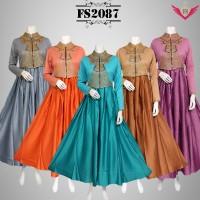 maxi dress busana muslim gamis baju pesta kebaya cardigan wanita