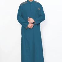 Jubah Cordova Toska Pakaian Sepasang Gamis Cowok Al-Isra Ready