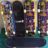 skateboard import merk repo man full set barang le