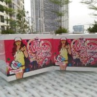 TERBATAS Panty Liner Venus Katun Arang Bambu Anion