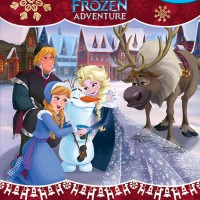 My Busy Book Disney Olaf's Frozen Adventure includes a Storybook