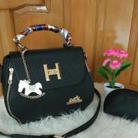 Cool22-00 Tas Selempang Wanita Branded Hermes Plat Togo Mini Warna