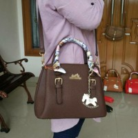 Cool22-00 Tas Fashion Branded Hermes Model Prada Medium Bahan Togo