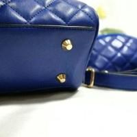 Cool22-00 Tas Wanita Fashion Set Chanel Apel Apple Mini 2 Ruang Warna