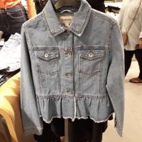 jaket jeans stradivarius